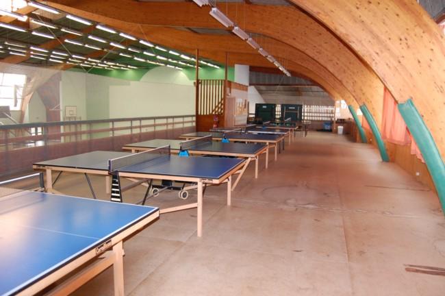 Gymnase Mezzanine Tennis Table